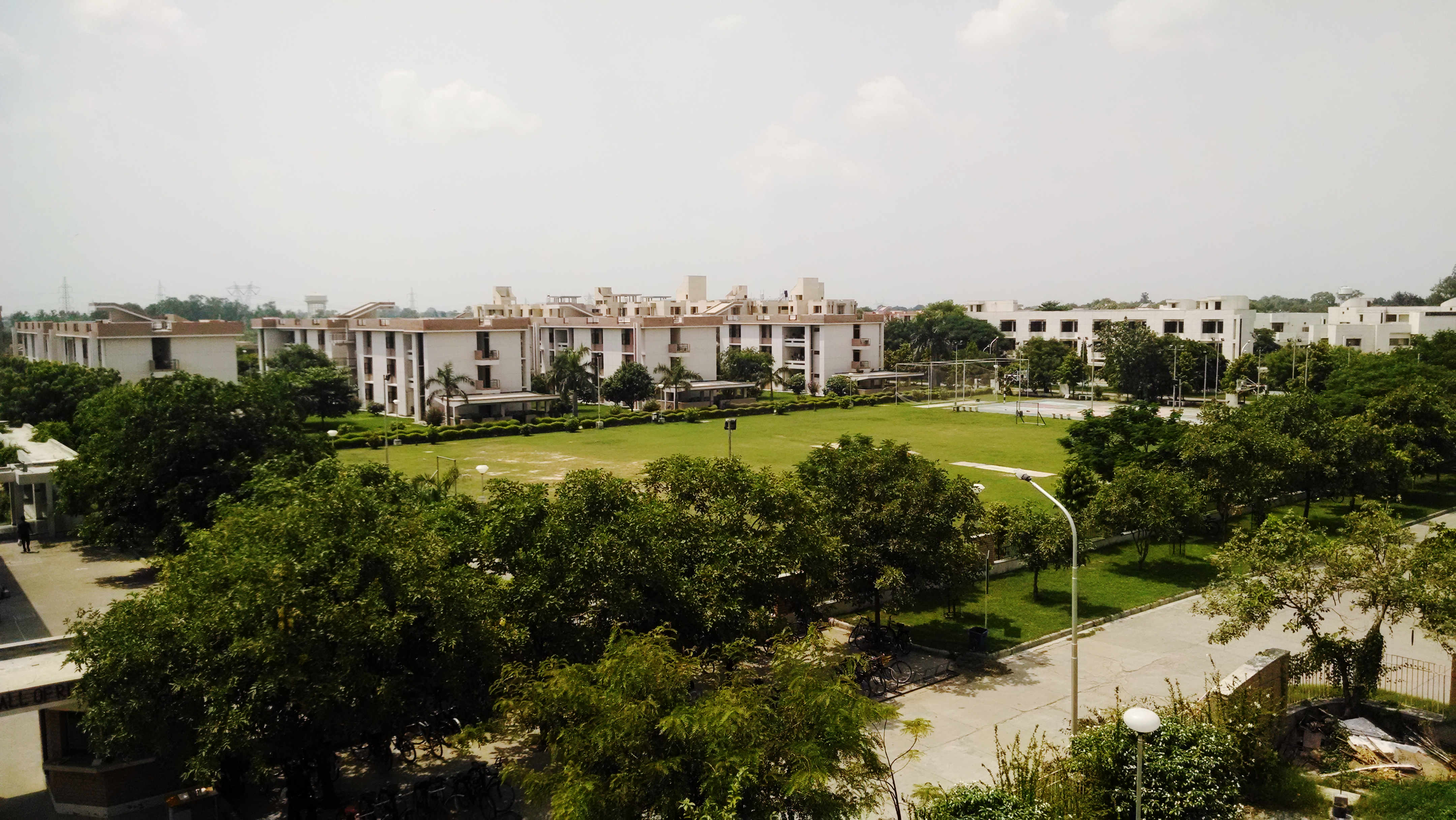 SkyView of IIT Kanpur Campus